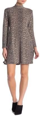 Como Vintage Super Soft Mock Neck Dress