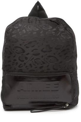 Aimee Kestenberg Packable Tonal Cheetah Print Backpack