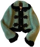 Gucci Green Mongolian Lamb Jackets