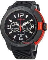 Redline Red Line Chronograph Black Dial Men's Watch 309C-BB-01-OA