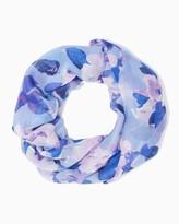 Charming charlie Tulip chiffon infinity scarf