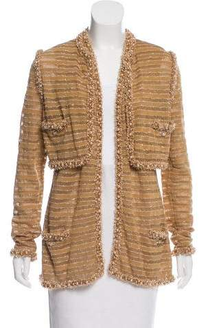 Chanel 2015 Paris-Dubai Cardigan Set