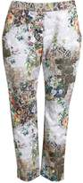 Mother of Pearl Cropped Pants