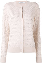 Givenchy pearl embellished cardigan - women - Silk/Polyester/Wool/glass - L