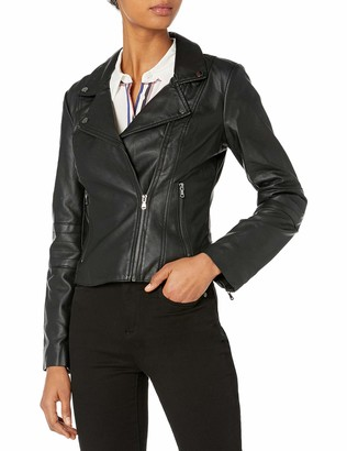 French Connection Women's Maddie Soft Pu Jacket