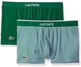 Lacoste Men's Colours 2-Pack Stripe Trunk