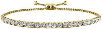 Sabrina Designs 14K 1.00 Ct. Tw. Diamond Bolo Adjustable Bracelet