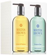 Molton Brown Lemon & Mandarin And Pettigree Dew Hand Wash Set