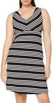 Thumbnail for your product : Tom Tailor Casual Women's Gestreiftes Kleid Dress