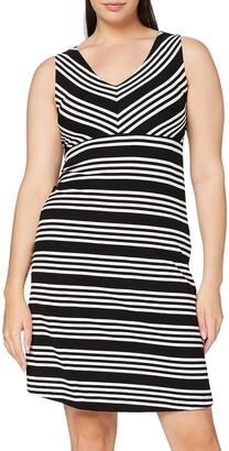 Tom Tailor Casual Women's Gestreiftes Kleid Dress