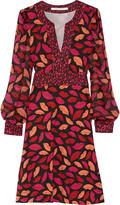 Diane von Furstenberg Leyah printed silk-jersey dress