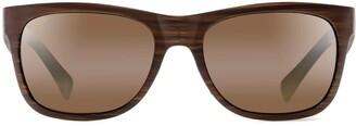 Maui Jim Kahi with Patented PolarizedPlus2 Lenses Polarized Wrap Sunglasses