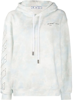 Off-White Tie-Dye Relaxed-Fit Hoodie