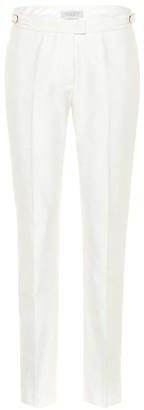 Gabriela Hearst Armon mid-rise slim cotton pants