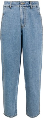 Chiara Ferragni Flirting high-rise boyfriend jeans