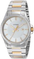 Citizen Two-Tone Bracelet Watch - Men