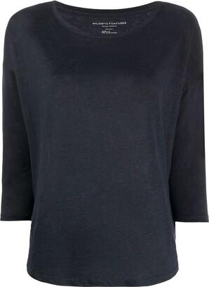 Majestic Filatures loose-fit T-shirt