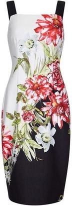 Adrianna Papell Scuba Printed Sheath Dress