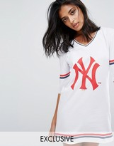 Majestic Oversized Yankees Jersey Dress