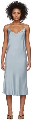 Skin Blue Silk Terra Dress