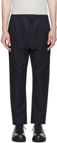 Sunnei Navy Tapered Trousers