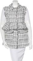 Alexis Tweed Peplum Vest