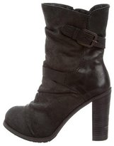 Henry Beguelin Suede Ankle Boots