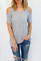 LAmade Casual Grey Long Top