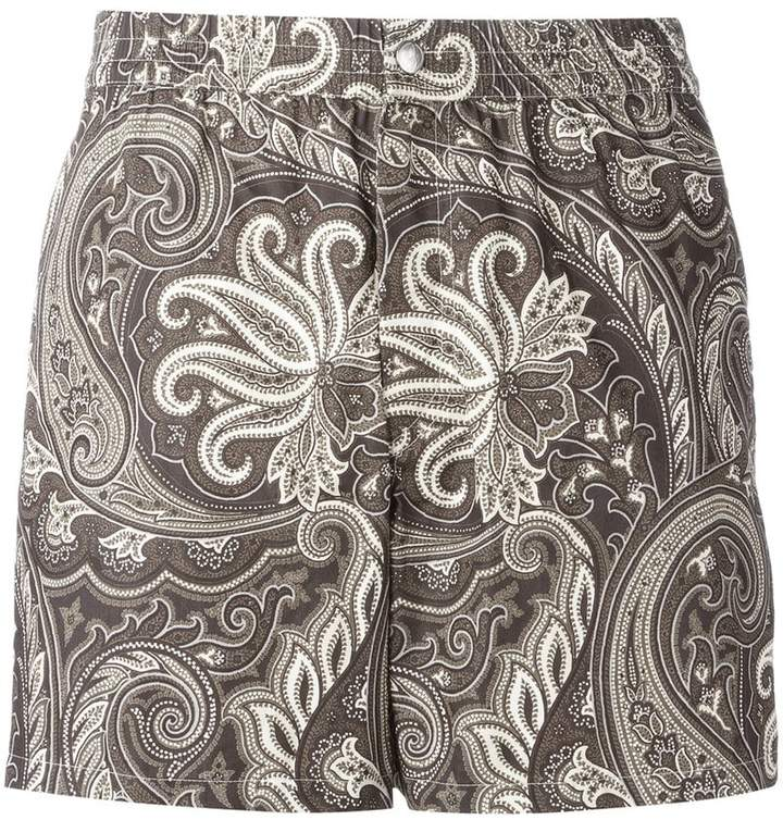 Brioni printed swimming shorts