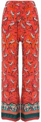 CHUFY Najima printed trousers