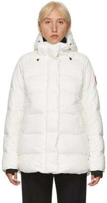 Canada Goose White Down Alliston Jacket