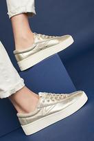 Tretorn Nylite Metallic Platform Sneakers