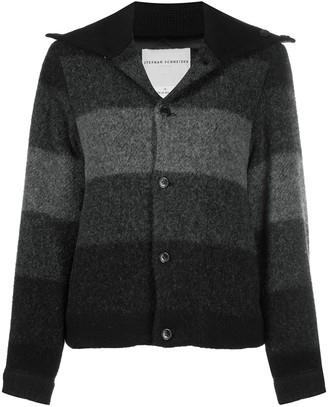 Stephan Schneider Sense striped wool jacket