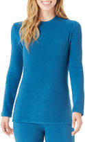Cuddl Duds Fleecewear Long-Sleeve Crewneck Shirt