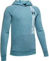 Under Armour Boys 8-16 Rival Wordmark Pull-Over Hoodie