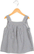 Bonpoint Girls' Geometric Print Shift Dress