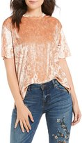 West Coast by Coco Crushed Velvet Top