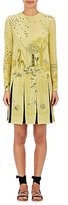 Valentino Women's Animal-Print Stretch-Silk Shift Dress