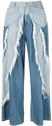 Tsumori Chisato bow embellished cropped trousers