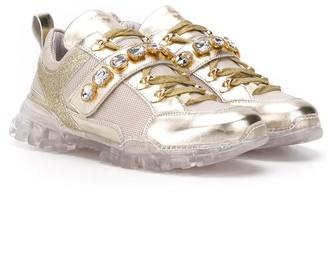 MonnaLisa TEEN embellished sneakers