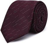 Reiss Malta - Silk Patterned Tie in Red, Mens