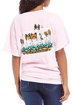 Lily Grace Dog Days Short Sleeve Graphic Tee