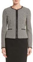 BOSS Women's Koralena Structured Tweed Jacket