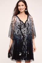 Blank Twilight Blooms Swing Dress