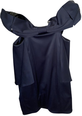 Marc by Marc Jacobs Navy Silk Dresses