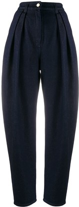 Alberta Ferretti High-Waisted Loose-Fit Jeans