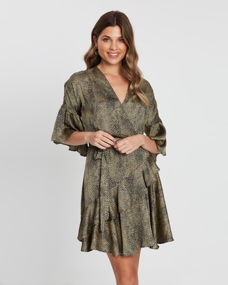 Atmos & Here Alice Wrap Dress