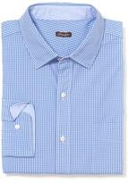 J.Mclaughlin Gramercy Classic Fit Shirt in Mini Check
