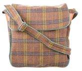 Paul Smith Wool Plaid Messenger Bag