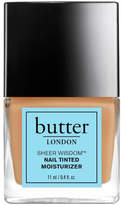 Butter London butter LONDON Sheer Wisdom Nail Tinted Moisturiser 11ml - Medium